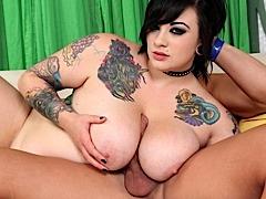 Big Tittied Goth Girl Sex